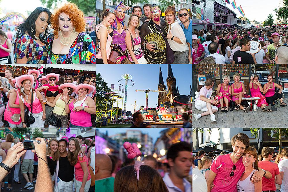 Roze Maandag 2012 door PartyHotShots.nl