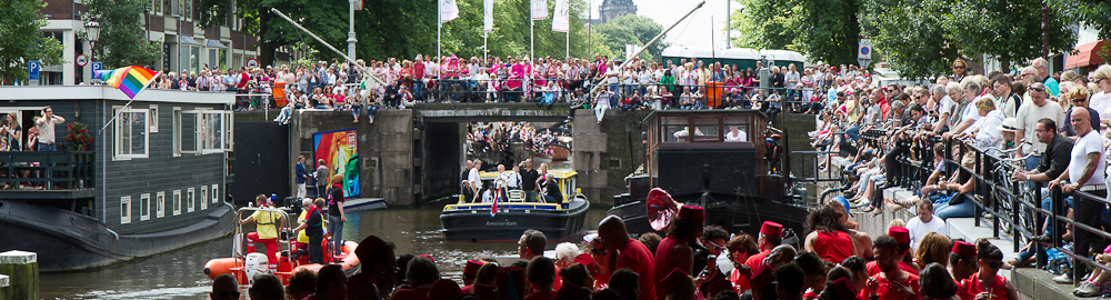 Gay Pride Amsterdam Canal Parade 2012