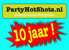 PartyHotShots.nl 10 jaar