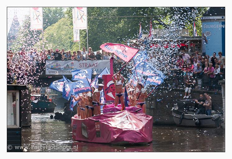 Gaymobil Amsterdam Canal Parade 2012