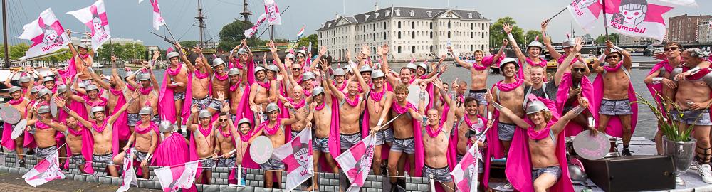 Gaymobil Amsterdam Gay Pride 2014