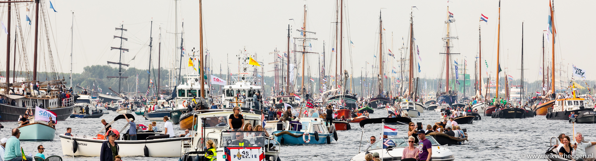 Sail-in parade - Sail Amsterdam 2015