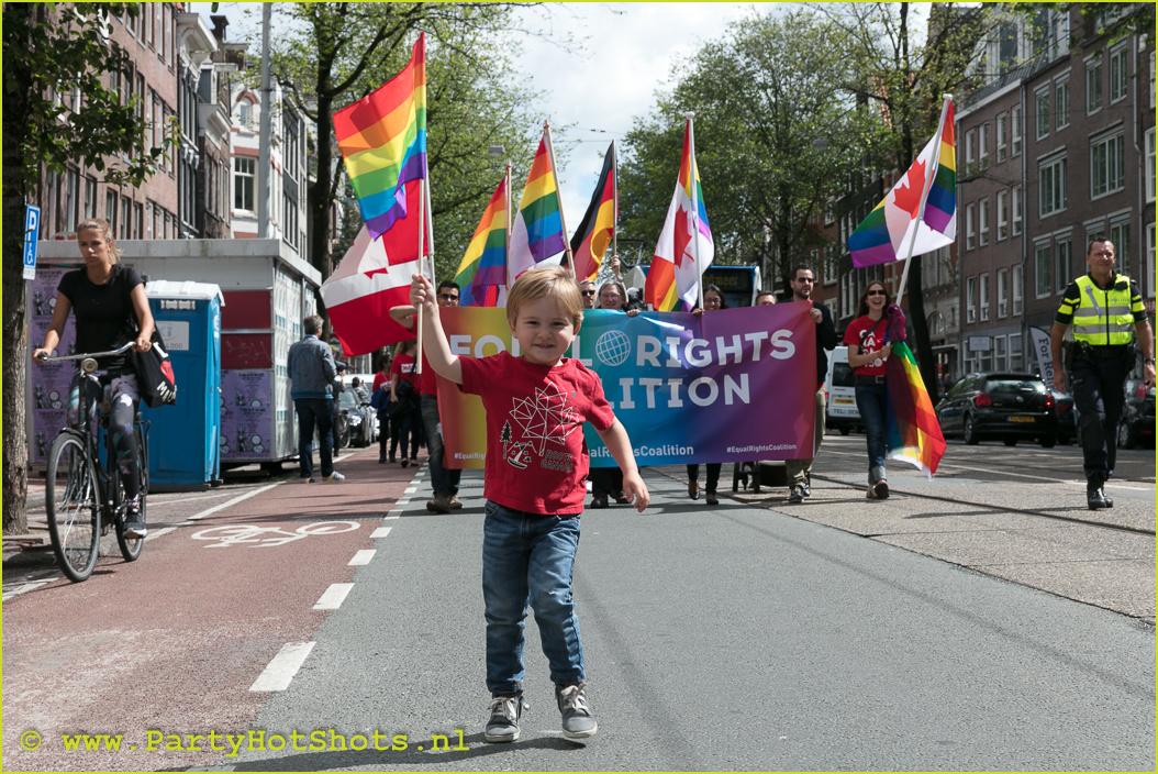 Amsterdam Pride Walk 2017